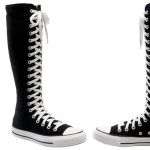 Converse all star knee high sneakers
